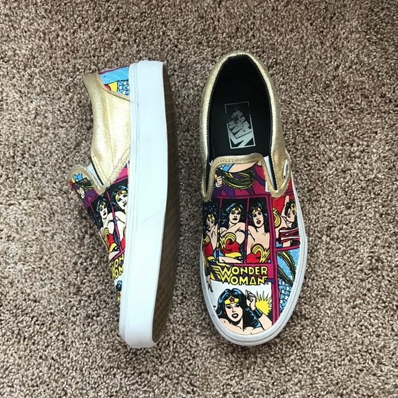ad9ab025a123 Custom Wonder Woman Vans